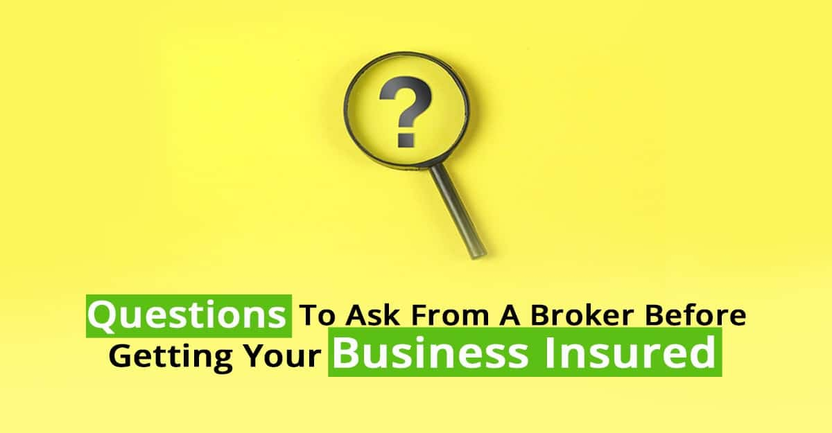 Questions to ask from a broker